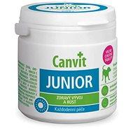 Canvit Junior pre psy 100 g - Doplnok stravy pre psov