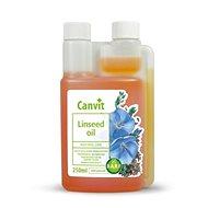 Canvit Linseed oil 250 ml - Doplnok stravy pre psov