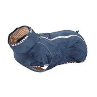 Oblečok Hurtta Casual prešívaná bunda modrá 30XL - Oblečenie pre psov