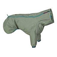Oblečok Hurtta Rain Blocker ECO 50 khaki - Pršiplášť pre psa