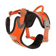 Postroj Hurtta Weekend Warrior neón oranžový 40 – 45 cm - postroj