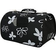 Taška cestovná Flower M čierna 25 × 44 × 29 cm Zolux - Taška pre psa a mačku