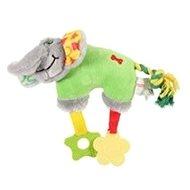 ELEPHANT COLOR plyš zelená 20 cm Zolux - Hračka pre psov