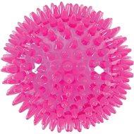 BALL SPIKE TPR POP 13 cm s ostňami ružová Zolux - Hračka pre psov