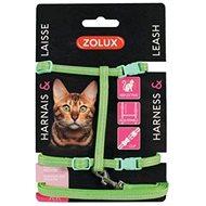 Postroj mačka s vodítkom 1,2 m zelený Zolux - Postroj pre mačku