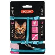 Postroj mačka s vodítkom 1,2 m modrý Zolux - Postroj pre mačku