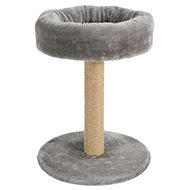 Škrabadlo stĺpik s pelechom sivé 46 cm Zolux - Škrabadlo pre mačky