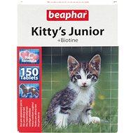 Doplnok stravy pre mačky BEAPHAR - Pochúťka Kitty´s biotínom, 150 tbl
