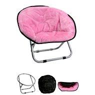 Papillon kresielko, Relax, ružové, 50 × 50 × 40 cm - Pelech pre psov a mačky
