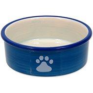 MAGIC CAT Miska keramická mačacia labka modrá 12,5 × 5 cm - Miska pre mačky