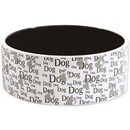 DOG FANTASY Miska keramická potlač Dog 0,75 l 16 × 6 cm - Miska pre psa
