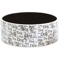 DOG FANTASY Miska keramická potlač Dog 1,4 l 20 × 7,5 cm - Miska pre psa