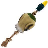 DOG FANTASY hračka latex hus s lanom a zvukom 55 cm