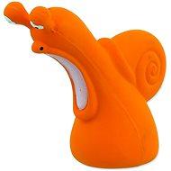 DOG FANTASY hračka latex slimák so zvukom 12 cm - Hračka pre psov