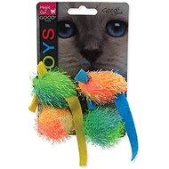 MAGIC CAT hračka myš a gule s catnip 5 cm 4 ks - Myš pre mačky