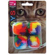 MAGIC CAT hračka loptička 3,75 cm 4 ks - Loptička pre mačky