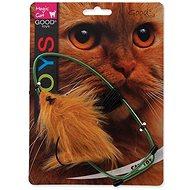 MAGIC CAT hračka myška závesná na dvere plyš mix - Myš pre mačky