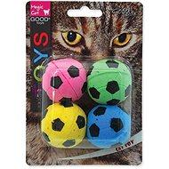 MAGIC CAT hračka loptička penová futbalová 3,75 cm 4 ks - Loptička pre mačky