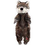 DOG FANTASY hračka skinneeez vlk plyš 50 cm - Hračka pre psov