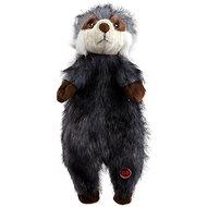 DOG FANTASY hračka skinneeez mýval plyš 34 cm - Hračka pre psov