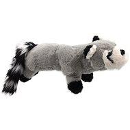 DOG FANTASY hračka plush pískací medvedík čistotný čierne labky 45 cm - Hračka pre psov