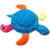 LET´S PLAY hračka korytnačka modrá 22 cm - Hračka pre psov