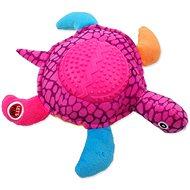 LET´S PLAY hračka korytnačka fialová 22 cm - Hračka pre psov