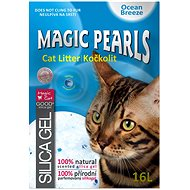 Podstielka pre mačky MAGIC PEARLS podstielka ocean breeze 16l
