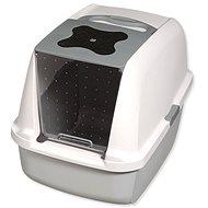 HAGEN toaleta Catit design sivá - Mačací záchod