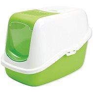 SAVIC toaleta Nestor 56× 39×38,5cm zelená - Mačací záchod