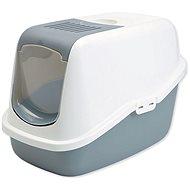 SAVIC toaleta Nestor 56× 39×38,5cm bielo-sivá - Mačací záchod