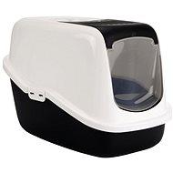 SAVIC toaleta Nestor 56×39×38,5cm čierna - Mačací záchod