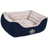 SCRUFFS Wilton box bed S 50×40cm modrý - Pelech pre psa