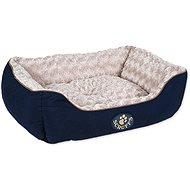 SCRUFFS Wilton box bed M 60×50cm modrý - Pelech pre psa
