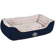 SCRUFFS Wilton box bed L 75×60cm modrý - pelech