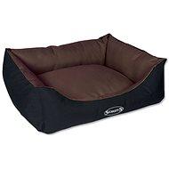 SCRUFFS expedition box bed čokoládový - Pelech pre psa