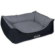 SCRUFFS expedition box bed sivý - Pelech pre psa
