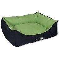 SCRUFFS expedition box bed M 60×50cm limetkový - Pelech pre psa