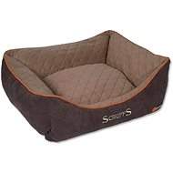 SCRUFFS thermal box bed hnedý - pelech