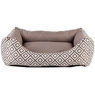 DOG FANTASY Sofa etno hnedý - Pelech