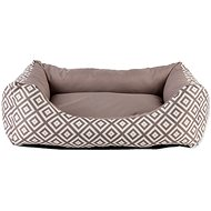 DOG FANTASY Sofa 83×70×20cm etno hnedý - pelech
