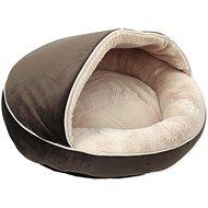 DOG FANTASY pelech Comfy3 50×50×33cm čokoládový - Pelech pre psov a mačky