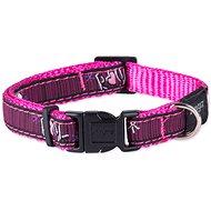 ROGZ obojok Fancy Dress pink love 1,1×20 – 31cm - Obojok pre psa