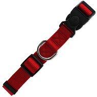 DOG FANTASY obojok Classic L červený 2,5×45–68cm - Obojok pre psa