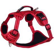 ROGZ postroj explore červený 2×43 – 59cm - Postroj pre psa