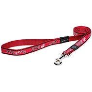 ROGZ vodítko Fancy Dress red bone 2×140cm