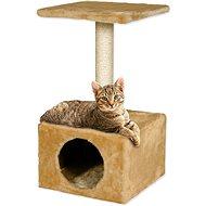 MAGIC CAT odpočívadlo Hedvika 31×31×57cm béžové - Škrabadlo pre mačky