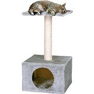 MAGIC CAT odpočívadlo Hedvika 31×31×57cm sivé - Škrabadlo pre mačky