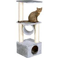 MAGIC CAT odpočívadlo Tamara 36×36×109cm sivé - Škrabadlo pre mačky