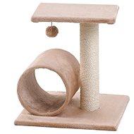 MAGIC CAT odpočívadlo Helen 35×40×54cm béžové - Škrabadlo pre mačky